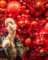 2017 Holiday Window Display at Macy's Herald Square, New York City (jag9889) Tags: 2017 2017holidaywindowdisplay 20171203 christmas decoration departmentstore display heraldsquare holiday macy macys manhattan mannequin midtown ny nyc newyork newyorkcity night nightphotography nightscene ornaments outdoor red reflection retail storewindow usa unitedstates unitedstatesofamerica window jag9889