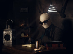 """""""The Invisible Man"""" (Kavan The Kid) Tags: kavan kid fine art photography conceptual surrealism invisible man portrait self photo photoshop spooky surreal strange scary magicial haunting classic weird eerie eccentric dark death abstract cinematic"""