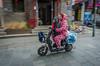 Scooter pijamas (mcvmjr1971) Tags: 1116mm 2017 china d7000 hubeiprovince nikon sipo wuhan lenstokina mmoraes night people street tokina travel