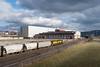 Housatonic RR at Pittsfield (Mojave511) Tags: unitedstates ma pittsfield housatonicrr train railroad sky clouds