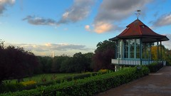 Bandstand at the Horniman Museum with London in the distance (matt.rainsford) Tags: bandstand hornimanmuseum london