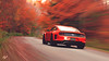 Ford Mustang Gr.3 Roadcar (at1503) Tags: ford mustang red trees leaves autumn colours autumncolours vibrant speed usa vermont granturismo granturismosport digitalmotorsport