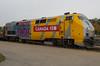 Via 910 Roster (Joseph Bishop) Tags: via ge 910 p42 trains train track tracks railfan railroad railway rail rails cndundassubdivision brantford