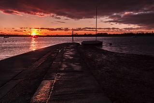 Sunset @ Bosham Quay
