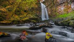 Flow (Einir Wyn Leigh) Tags: waterfall water longexposure nature woodland pleasure wales cymru southwales nikon trees autumn october landscape walk outside light colorful leaf