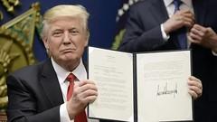 Trump Bill Signing (FolsomNatural) Tags: trump bill signing spoof satire parody icecream