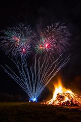 Woodford Bonfire (liamhancox1) Tags: woodford bonfire fire works fireworks colour orange night bright dark beautiful loud