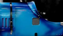 Blue car (Gilles Daligand) Tags: lyon rhone epoqauto bluecar voiture bleue tableau painting morceau piece olympus omdem5 12100