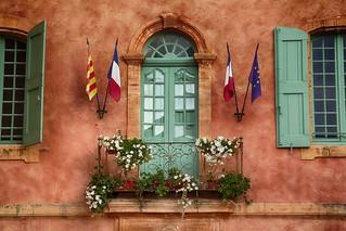 L'hôtel de ville - Roussillon