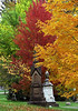 "Cincinnati – Spring Grove Cemetery & Arboretum ""Autumn Neighbors"" (David Paul Ohmer) Tags: ohio cincinnati spring grove cemetery arboretum springgrovecemetery gravesites burial grounds death spirit soul deceased graveyard conservatory victorian gothic revival national historic landmark adolph strauch cemetary autumn fall obelisk"