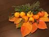 Fotos prestadas (esta_ahi) Tags: diospyros kaki diospyroskaki palosanto ebenaceae hojas adorno arreglo centro