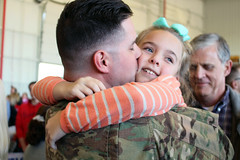 Kentucky National Guard (The National Guard) Tags: kentuckynationalguard kentuckyguard kentucky ky kyng return home welcome homecoming deploymentwelcome home207th horizontal engineer constructiolexingtonkentuckyunited states us deployment daughter father child children kids kid