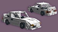 Mazda Savanna RX-7 FC3S Infini III [pre-final screenshot] (initial_dvache) Tags: ldd lego car 5wide 6wide mazda