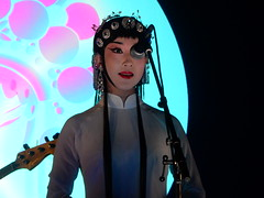 Beijing Opera Singer (mikecogh) Tags: adelaide elderhall ozasiafestival sever chinese folk opera singer plaits operasinger tiara makeup