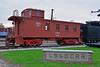 CB&Q #14451 (Jim Strain) Tags: jmstrain train railroad railway caboose burlington cbq mendota illinois