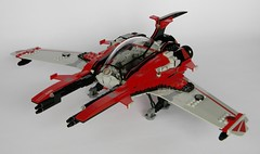 'Devils Advocate' Vic Viper (DW Studios - MI) Tags: lego moc space spaceship spacecraft fightercraft fighter vic viper ucs