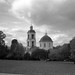 «Late Autumn in Tsaritsyno. Church of the Blessed Virgin» (noir version)