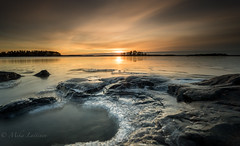 It's getting dark (Mika Laitinen) Tags: balticsea canon5dmarkiv europe finland kallahdenniemi kallvik leefilters suomi vuosaari cliff cloud cold ice landscape longexposure nature outdoors rock sea seascape shore sunset water