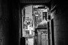behind the facades (Fearghàl Nessbank) Tags: nikon d700 blackwhite cityscapes edinburgh city art
