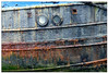 Neglected (PAUL YORKE-DUNNE) Tags: torpoint boats water rust sonya7r2 neglect rotting decay steel wood scuttles portholes rope