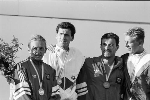 121 Swimming EM 1991 Athens