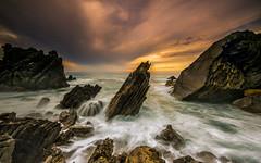 A life on the tide (marcolemos71) Tags: seascape sea waves atlanticocean rocks stones portuguesecoast hightide longexposure leefilters abano cascais rain cove sunset marcolemos
