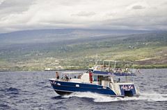 Leaving Keauhou Bay (EnviroTrekker) Tags: hawaii bigisland winter pacific ocean keauhoubay hulakai cruise