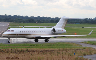 BD-700 Global Express, Northolt