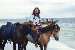 A stranger at the Gili Islands (Kym Ellis) Tags: portrait horses sea indonesia travelphotography travel peopleoftheworld people fujifilm xpro2 56mm stranger asia southeastasia gili lombok giliislands gilitrawangan