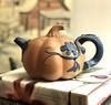 Good morning, my little pumpkin! (Joann aka Jee Whiz!) Tags: teapot chinese pumpkin earthenware organic