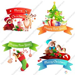 1789588 New Year Cartoon Concept (everythingisfivedollar) Tags: decoration colorful holiday object cute happy celebration greeting decor animal ribbon new tree star season gift box year festive hat ball winter present toy bear merry deer december candle teddy reindeer cane holly bauble sock sleigh christmas horse santa stitched xmas design set concept elements icons vector illustration isolated cartoon