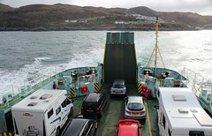 Leaving Mallaig Scotland on LOTI. (Dave Russell (1 million views thanks)) Tags: lord isles loti calmac caledonian macbrayne ferry ferries boat ship vessel vehicle transport mallaig armadale isle island skye inner hebrides scot scotland scottish west western highlands outdoor water sea ocean maritime marine seascape landscape deck land ahoy