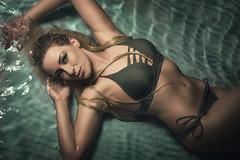 Lea Watershooting (HarryK Fotografie) Tags: portrait model shooting photography photographer water beauty oliv green nikon art
