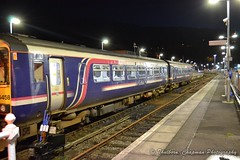 Scotrail at Oban Railway Station (@CyprusPictures) Tags: oban thulbornchapmanphotography landscape scotland scotlandphotography argyllbutephotos photosofoban travelandtourism scenery scotrail train railwaytrackbed railwaycarriages