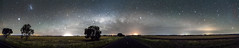 Parkes (Bill Thoo) Tags: parkes nsw australia newsouthwales milkyway stars nights astrophotography panorama longexposure landscape scenic travel sony a7rii ilce7rm2 batis zeiss 18mm
