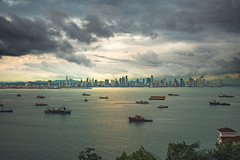 Chance Flotilla (markdnormann) Tags: panama bay jigsaw scene tropical 9 degrees north