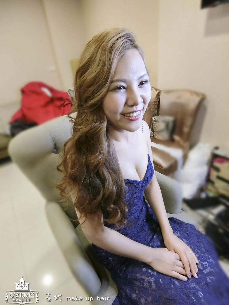 【新秘蓁妮】bride巧瑩 結婚造型 / 台中崇德大和屋