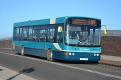 Arriva VDL SB200 1411 YJ57BVV - Doncaster (dwb transport photos) Tags: arriva vdl wright commander bus 1411 yj57bvv doncaster
