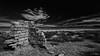 Desert Ruins (Jose Matutina) Tags: abandoned california clouds desert graffiti historical ruins sel1635z sony sonya7ii trip