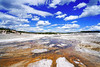 Brown & blue, Yellowstone NP, USA (Andrey Sulitskiy) Tags: usa yellowstone wyoming