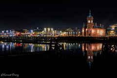 Cardiff Bay (geraintparry) Tags: cardiff bay cymru welsh caerdydd south wales nikon d500 nikond500 pierhead building evening night hdr light lights reflection reflections sky geraint parry geraintparry