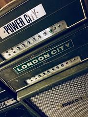 Power City and London City (adnogstreets) Tags: v iv 5 4 mk amplification 70 100 dea dutch amplifier power city london