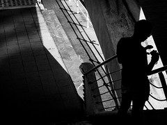 under the bridge (bemberes) Tags: bw urban bilbao epl3