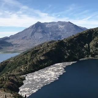 Saint Helens Lake in Washington