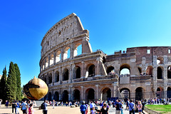 The ancient Coliseum in Rome (Liwesta) Tags: rome roma rom italy italien europe building old architecture