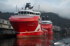 KL Brofjord & KL Sandefjord (Aviation & Maritime) Tags: klsandefjord klbrofjord klineoffshore ahts ahtug anchorhandlingtugsupply anchorhandling tug supply psv platformsupplyvessel supplyvessel offshore bergen norway