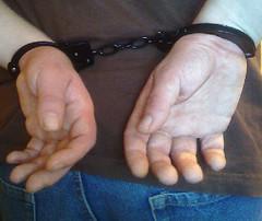handcuffed guy (catbleu4555) Tags: handcuffed handcuff guy justice jail portrait prisoner