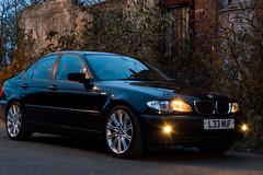 BMW 1 (lee_moffat) Tags: lee moffat nikon d3200 bmw e46 320d black detailed fife diesel classic shiny clean detail wheels tyres mv2 fog lights side angle saloon sedan