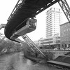 Wuppertal, Schwebebahn, 1901 (Adfoto) Tags: httpswwwflickrcomphotosupload openbaarvervoer publictransport vervoer transport trein train stad city