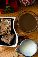 Toffee Rockieroad Flapjack and Coffee (glenmcdonald81) Tags: